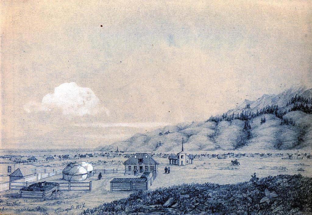 Укрепление Верное 1856 г.