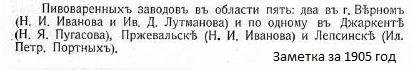 Купцы Портных - Лепсинск